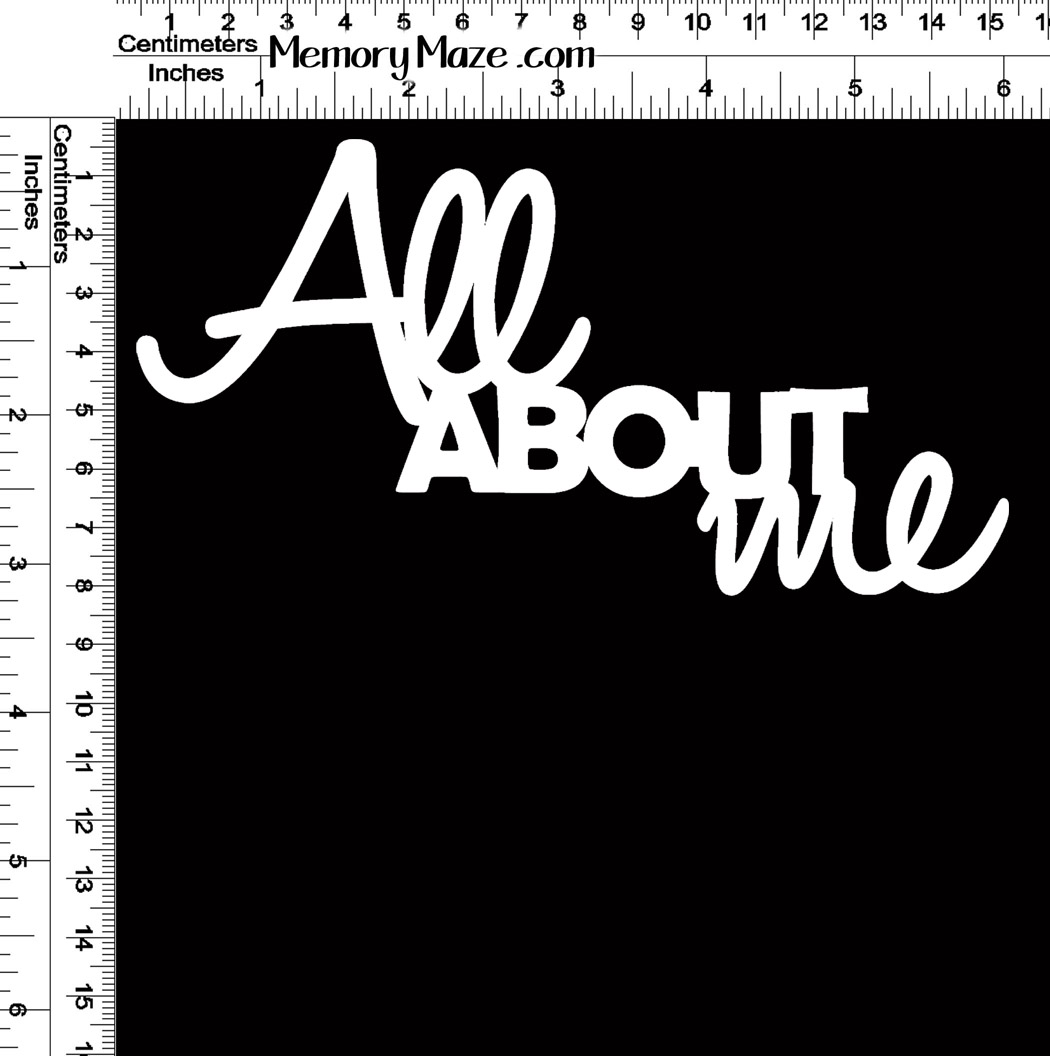 all about me 150 x 80 min buy 3